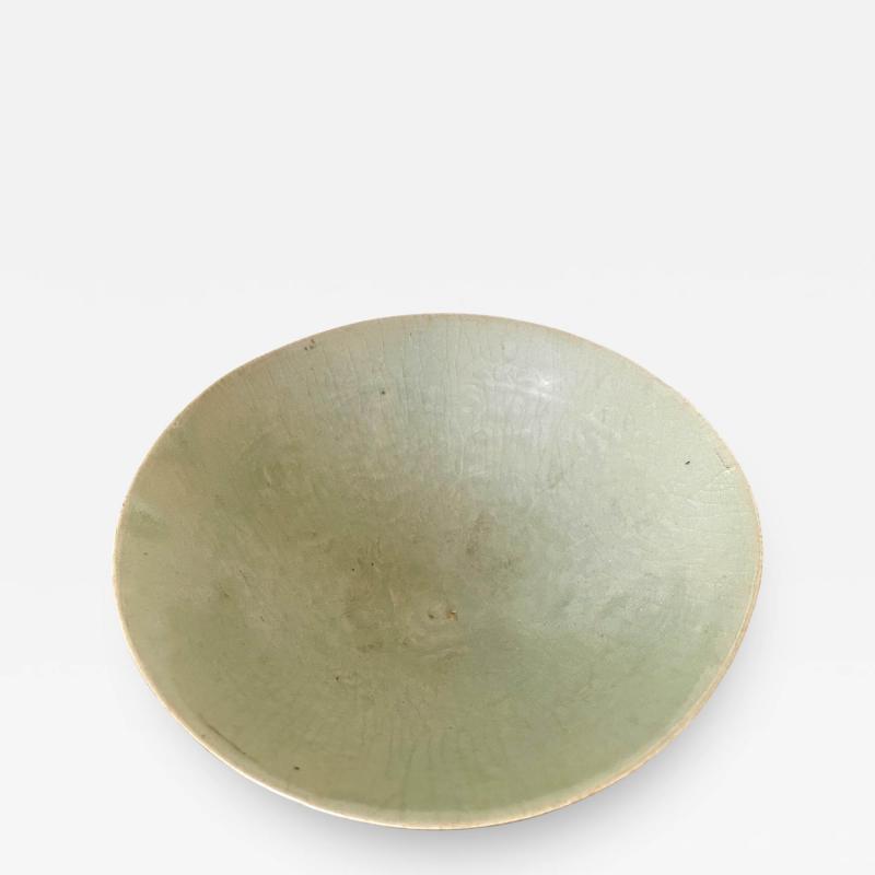 Celadon Ceramic Tea Bowl Korean Goryeo Dynasty
