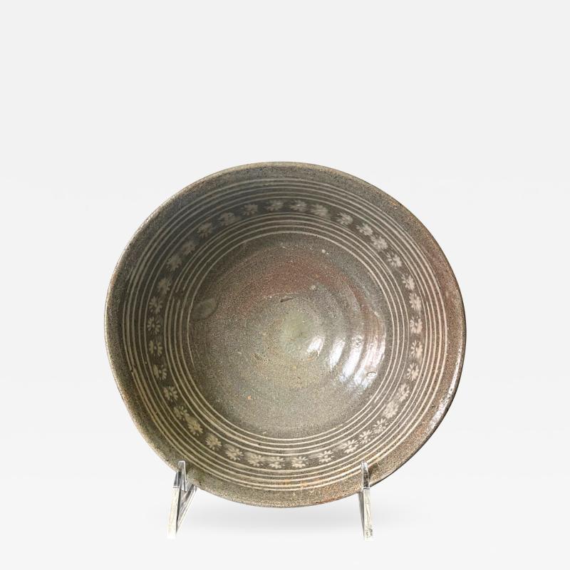 Ceramic Bowl Buncheong Ware Joseon Dynasty