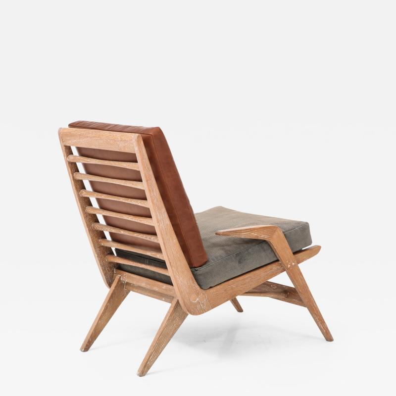Cerused Lounge Chair