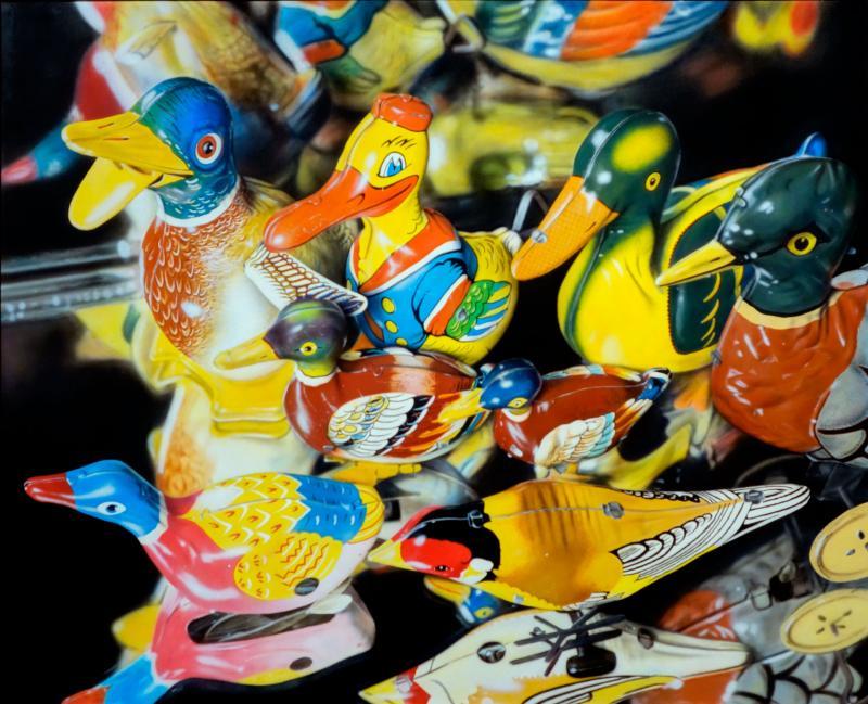 Cesar Santander Eight Tin Birds