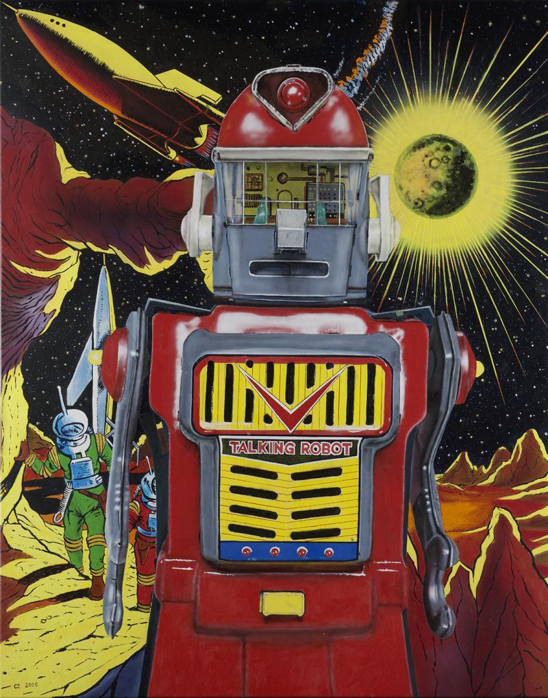 Cesar Santander Mercury Robot