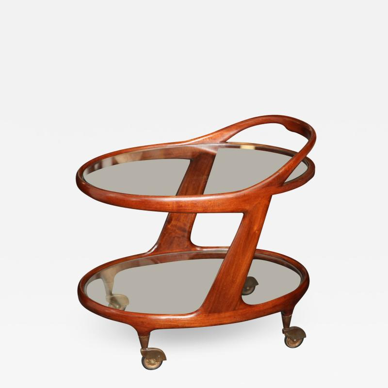 Cesare Lacca Bar Cart by Cesare Lacca made in Italy in 1950