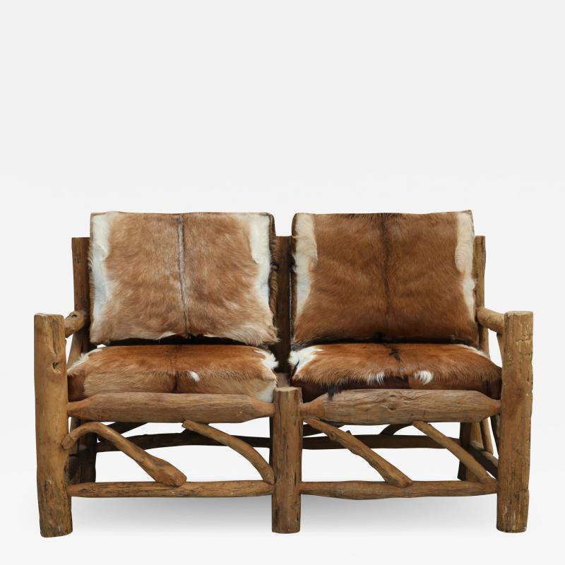 Chalet style sofa
