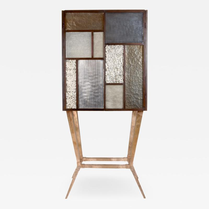 Charles Burnand Tableau Drinks Cabinet by Charles Burnand