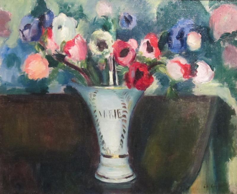 Charles Camoin Bouquet de fleurs