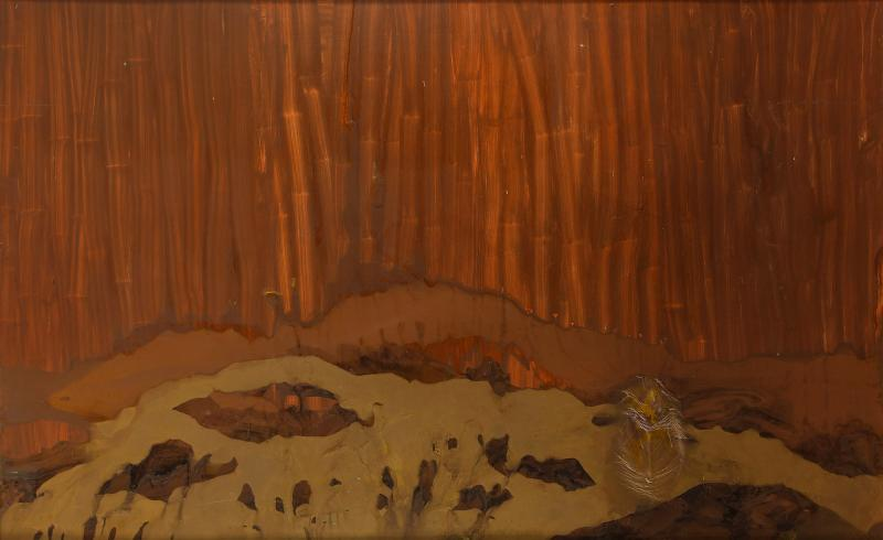 Charles Dix Large Abstract Painting by Charles Dix