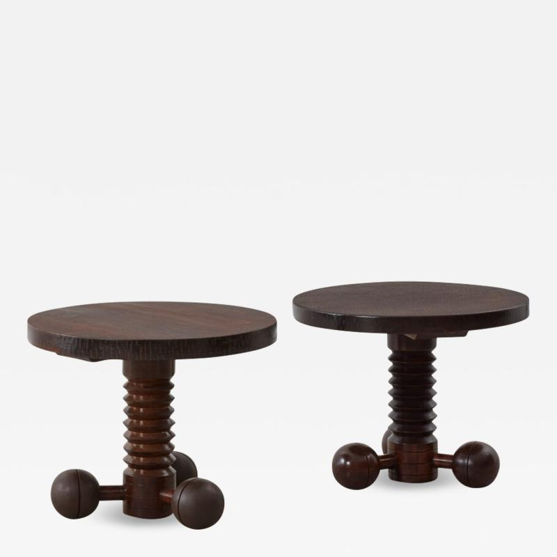 Charles Dudouyt Charles Dudouyt Gueridon tables France c1940