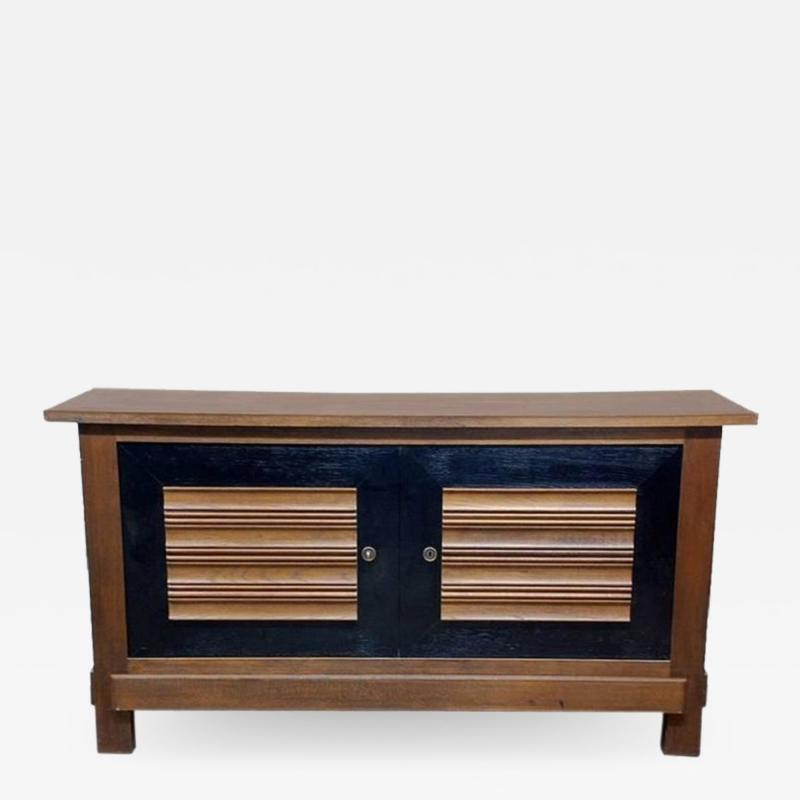 Charles Dudouyt Impressive Oak Sideboard by Charles Dudouyt for La Gentilhommie re