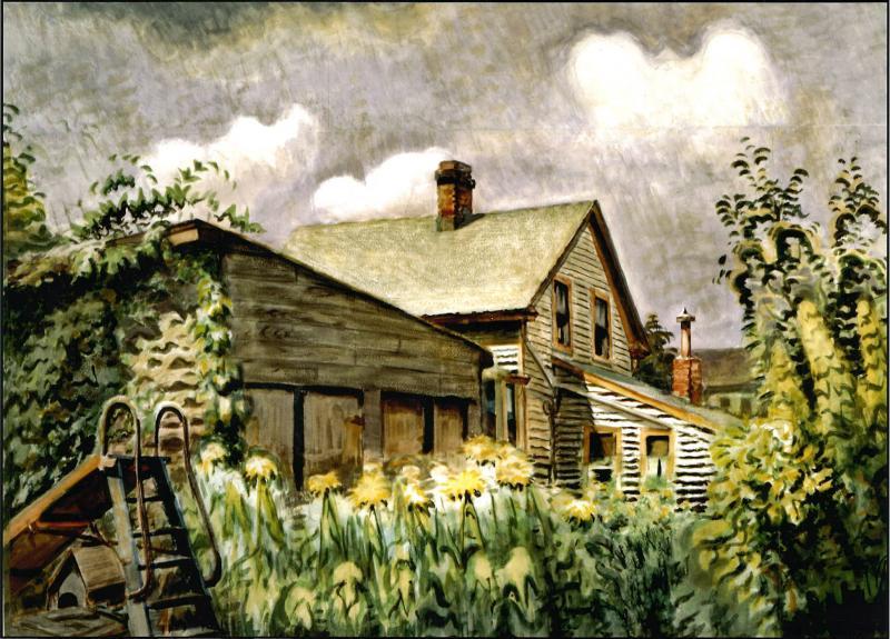 Charles E Burchfield August Morn