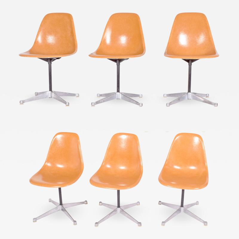 Charles Eames Charles Eames Six PSC chairs for Herman Miller