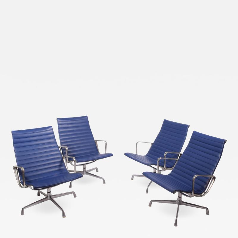 Charles Eames Four Aluminium Group Chairs by Charles Eames for Herman Miller sold individually