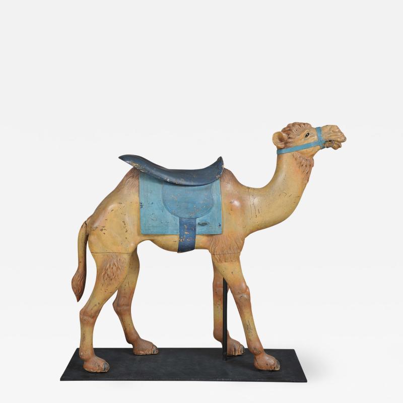 Charles Loof Camel Carousel Figure