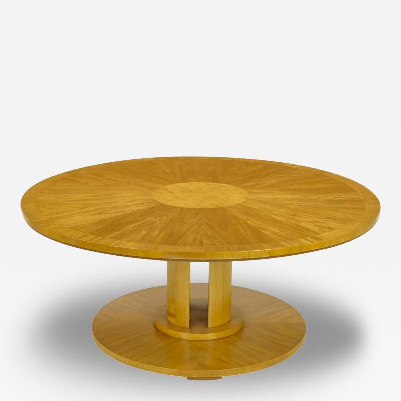 Charles Pfister Charles Pfister for Baker Primavera Mahogany Coffee Table