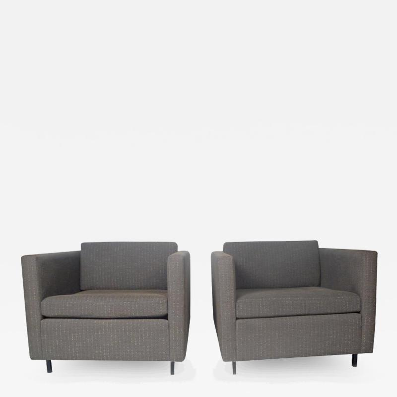 Charles Pfister Club Chairs by Charles Pfister for Knoll