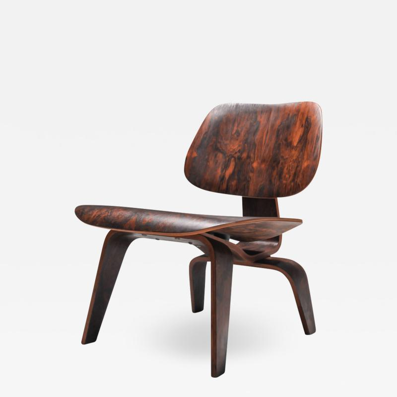 Charles Ray Eames Eames LCW Pre Production in Rio Rosewood 1945
