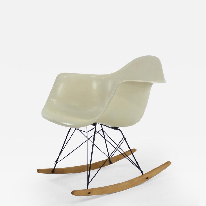 Charles Ray Eames RAR Molded Fiberglass Rocking Chair by Charles and Ray Eames for Herman Miller