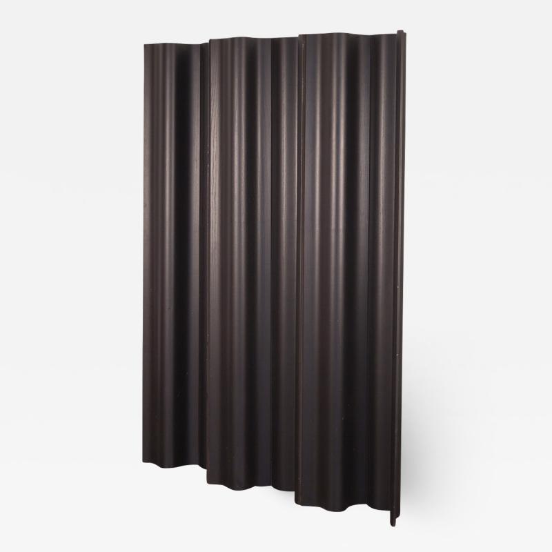 Charles and Ray Eames Eames Ebonized Folding Wood Screen FWS 6