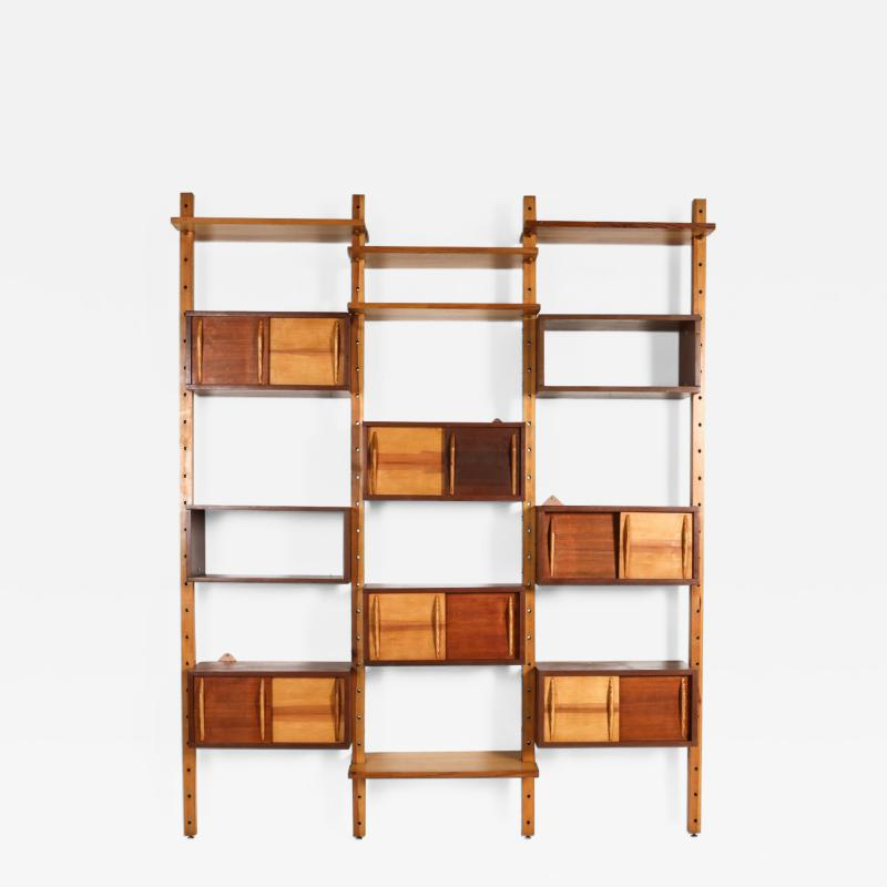 Charlotte Perriand Mid century modern shelve unit in the style of Perriand and Le Corbusier