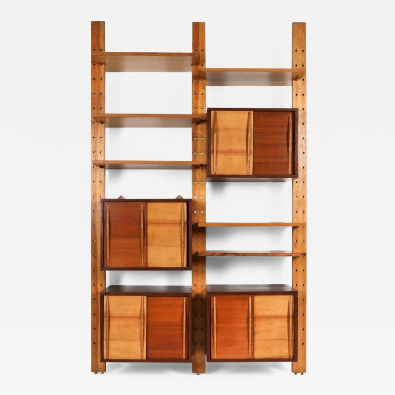 Charlotte Perriand Shelve system France 1970s inspired by Perriand Le Corbusier 1970s