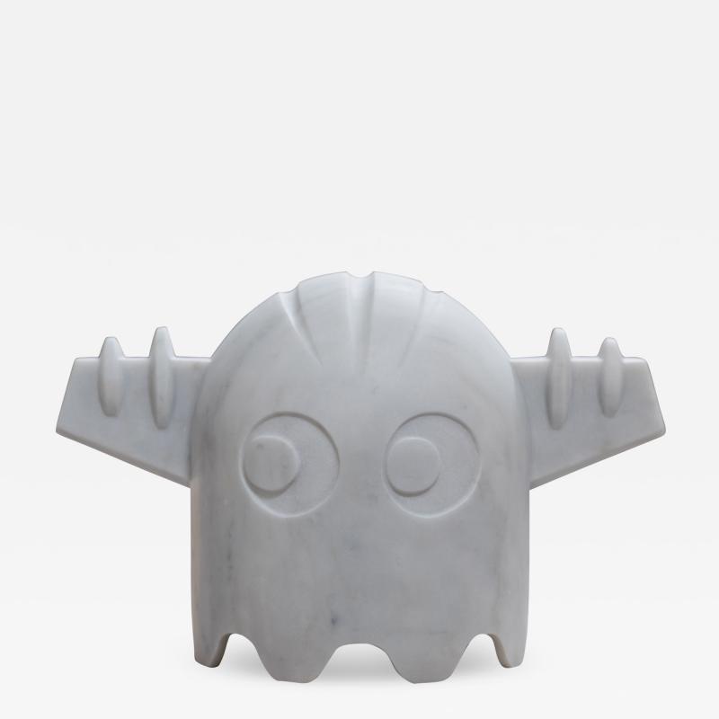 Chicco Chiari Sculpture made by the Italian artist Chicco Chiari representing Ufo Robot
