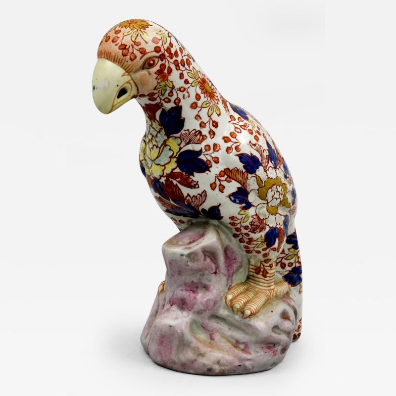 Chinese Imari Parrot Circa 1880