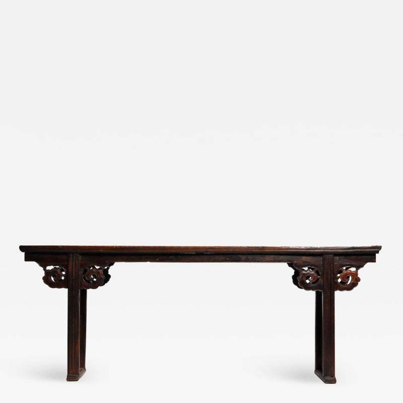 Chinese Solid Elm Wood Altar Table