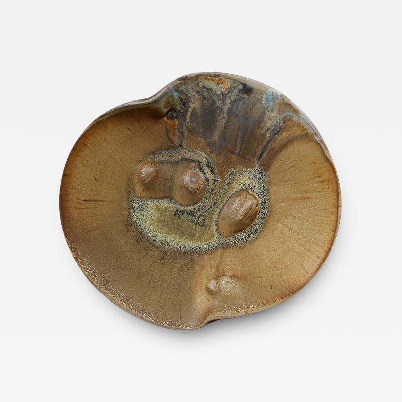 Chris Gustin Sculptural Platter 1810 by Chris Gustin