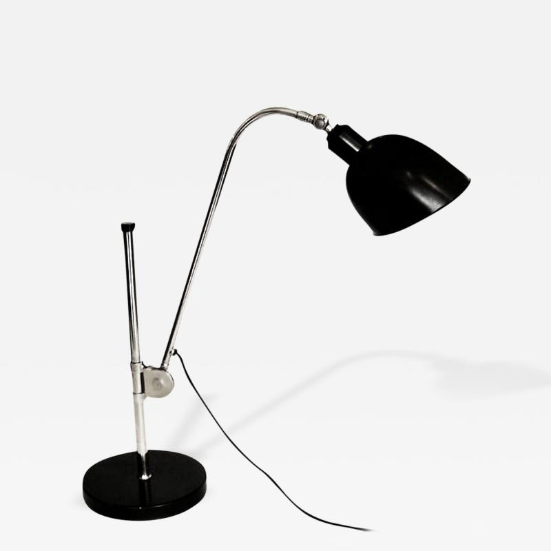 Christian Dell Bauhaus Table Lamp by Christian Dell