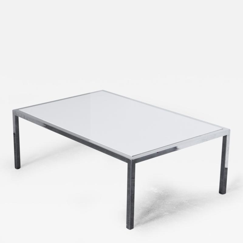 Chrome Parsons Cocktail table