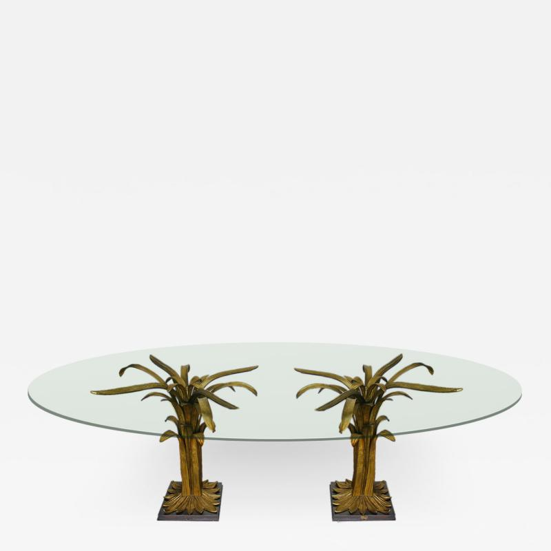 Chrystiane Charles Water leaves dining table Chrystiane Charles for Maison Charles