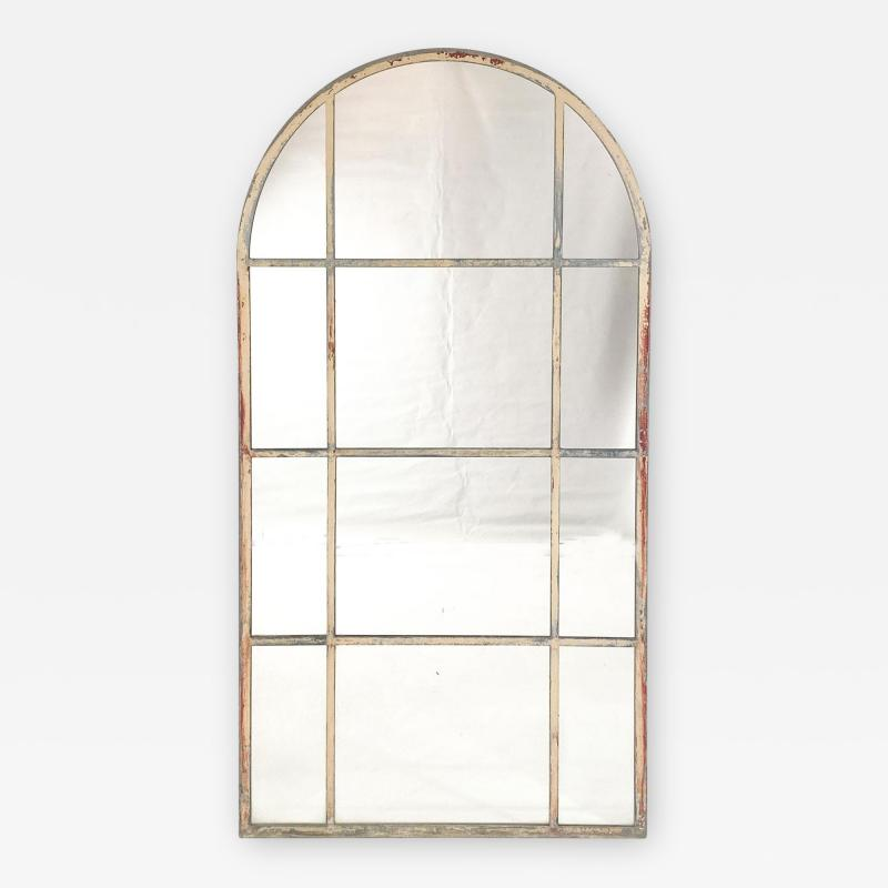 Circa 1920 Vintage Arched Mirror French