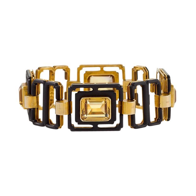 Citrine Quartz Bracelet by Marsh
