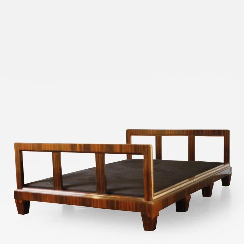 Cl ment Mere French Art Deco Macassar Ebony Daybed