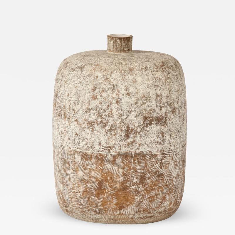 Claude Conover Blueb Ceramic Vessel