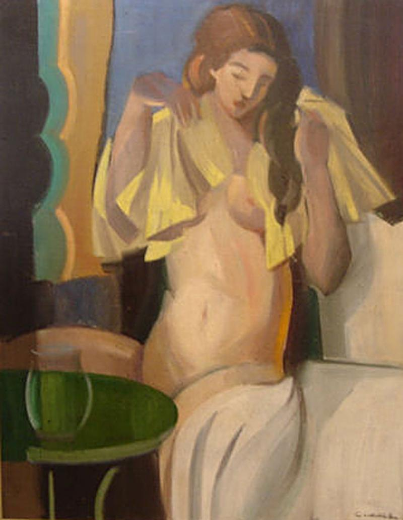 Claude Lacaze Nude French Woman