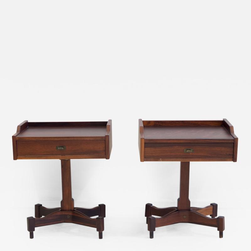 Claudio Salocchi Pair of Side Tables by Claudio Salocchi for Sormani Model SC 50