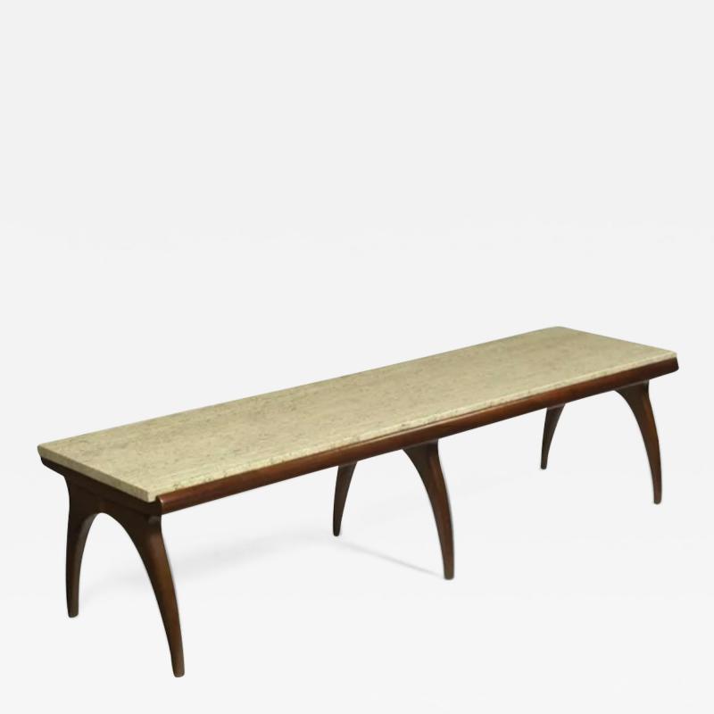 Coffee table designed by Bertha Schaefer Singer Sons