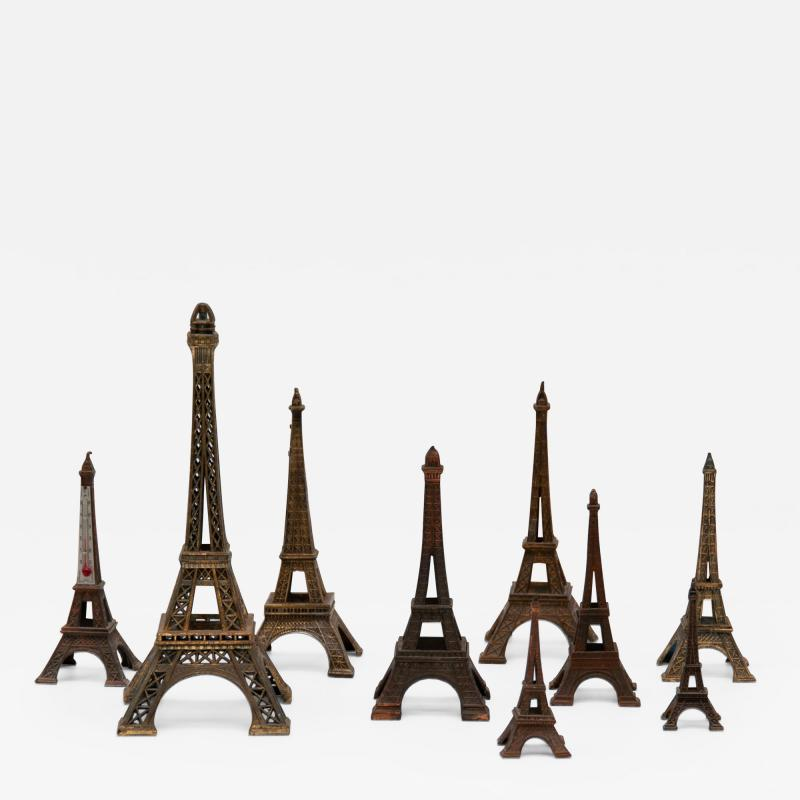 Collection of Eiffel Towers