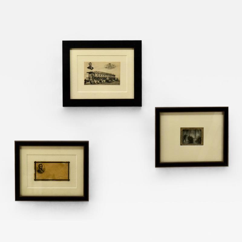 Collection of President Abraham Lincoln Memorabilia