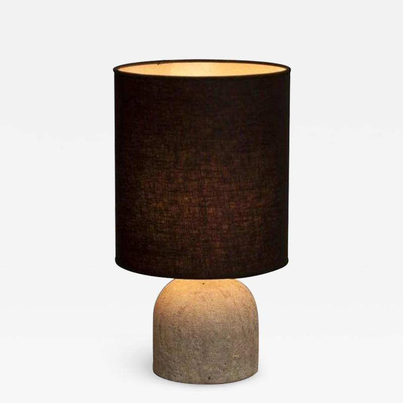 Concrete Steel Hand Crafted Table Lamp