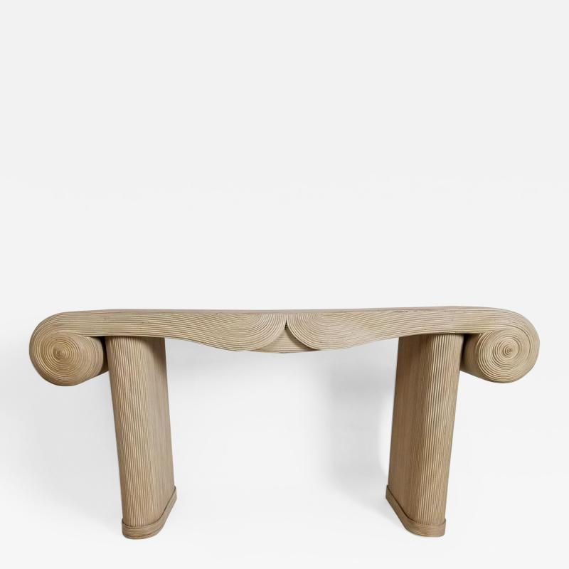 Console by Betty Cobonpue for Scultura 1980s Philippines