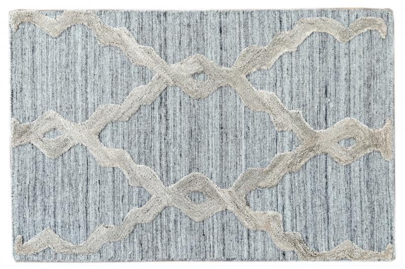 Contemporary Flatweave Custom Wool Rug