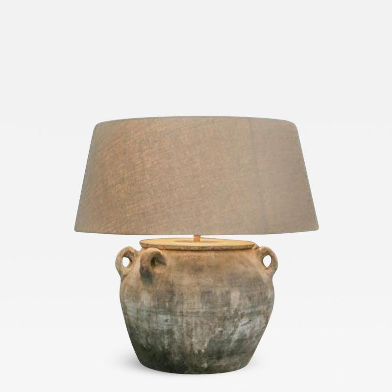 Copy of large unglazed vintage pot