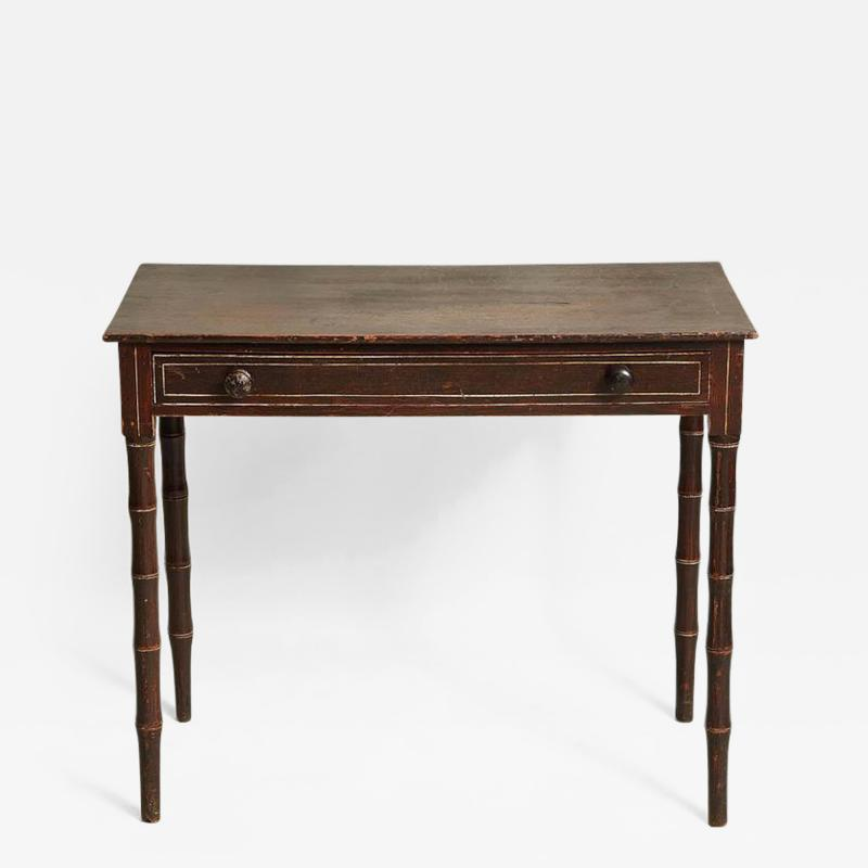 Country Regency Side Table