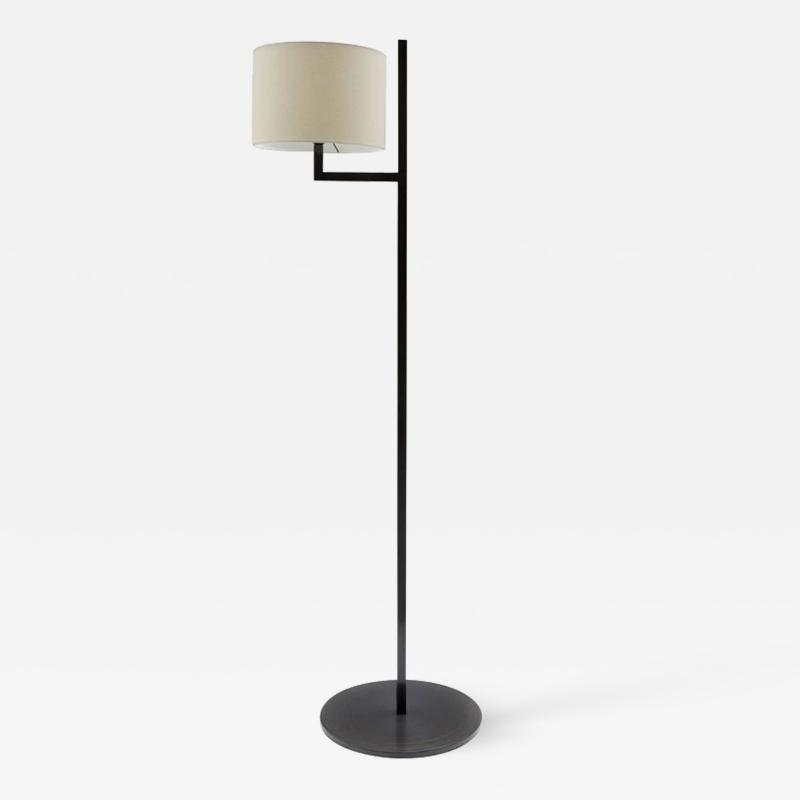 Cuatro Blackened Steel Floor Lamp