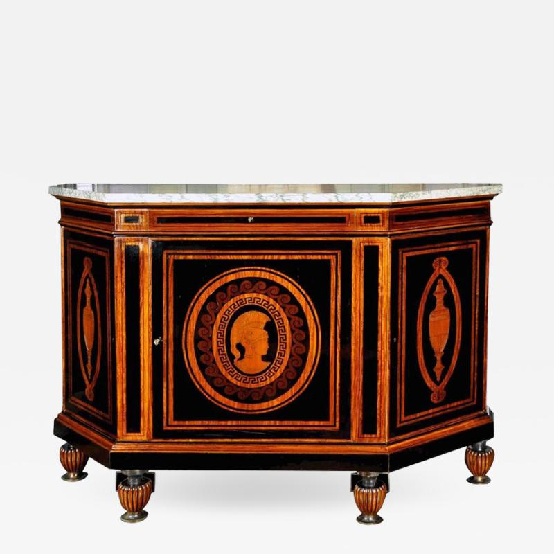 Curious French Sideboard Signed E Duru