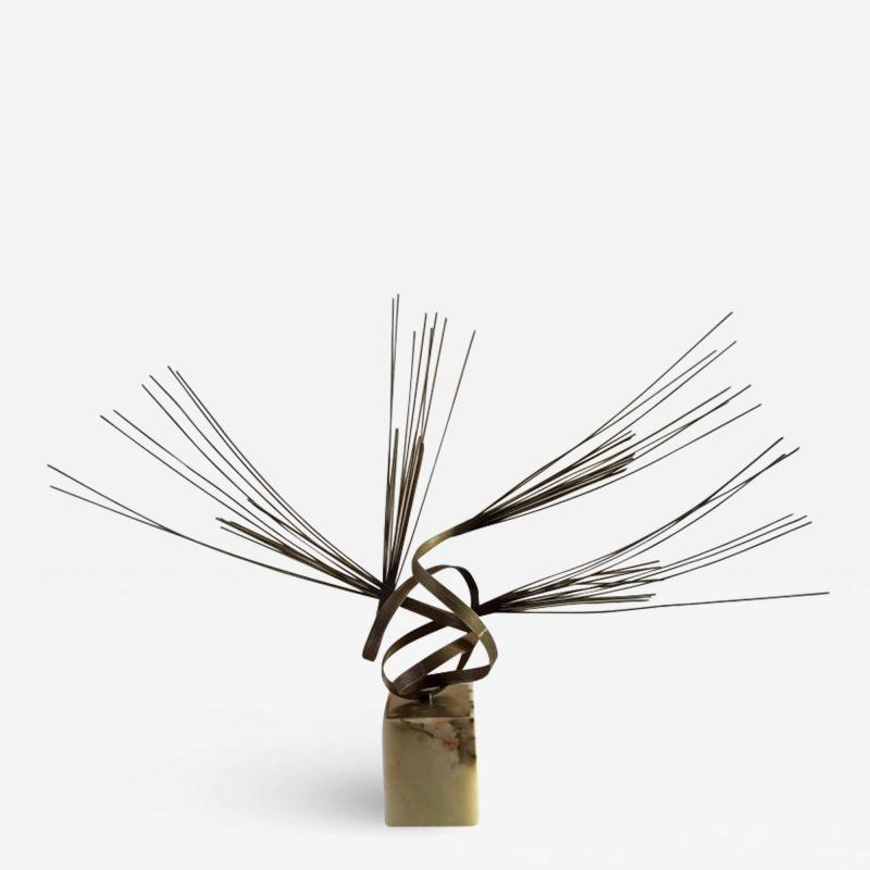 Curtis Jer Curtis Jere Kenetic Cyclone Spirited Sculpture