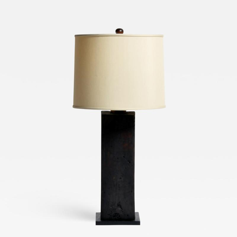 Custom Solid Wood Table Lamp