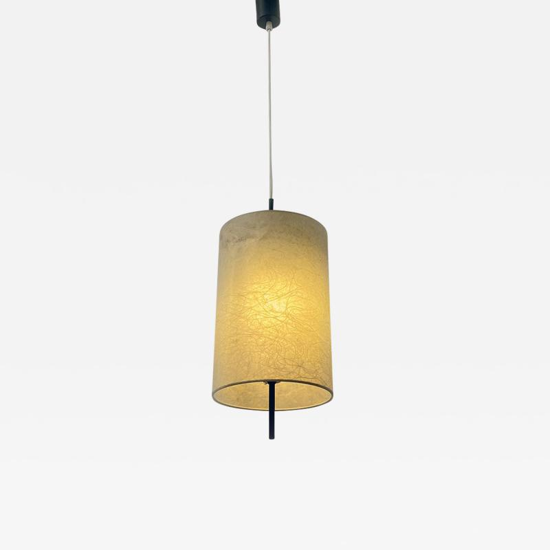 Cylindrical cocoon chandelier 1960s
