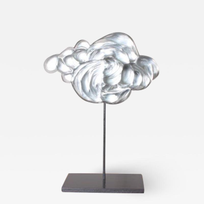Cyrille Morin Contemporary Glass Cloud Sculpture Nuage VII